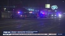 Investigation underway following deadly shooting along Van Buren