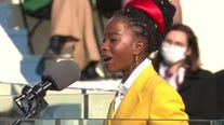 Amanda Gorman makes history as youngest known inaugural poet