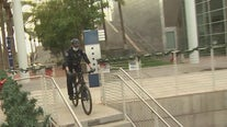 Mesa police bike unit receives helmet donation from Brain Injury Alliance