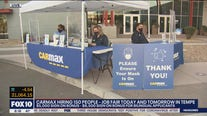 Carmax hiring 200 employees in Tempe