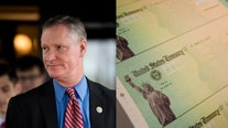 Lawmaker wants $1,400 stimulus checks reserved for those who get vaccine