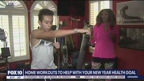 Home workouts to support your New Year's resolutions