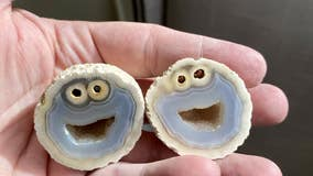'Cookie Monster' gemstone found in Brazil goes viral