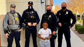 Chandler police donates money to boy after his wallet was stolen
