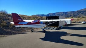 Northern Arizona police searching for suspects who stole airplane