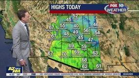 Morning Weather Forecast - 1/22/21