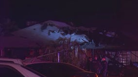 Fireworks spark house fire in Mesa
