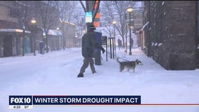 NWS meteorologist talks about winter storm's impact on Arizona's drought