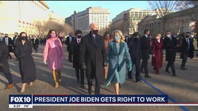Political analyst weighs in on President Biden's first day in office
