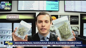What you need to know about recreational marijuana sales in Arizona