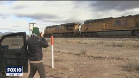Arizona photographer shares passion of trains with others