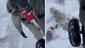 Crews rescue 5 people in 2 incidents in Arizona snow-blanketed areas