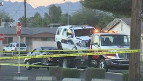 Two Phoenix officers hurt in alleged DUI crash while investigating another fatal collision