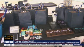 Valley group makes appreciation bags for Arizona law enforcement