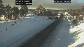 Many highway closures still in effect due to Arizona storm