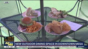 City of Mesa opens new outdoor dining space