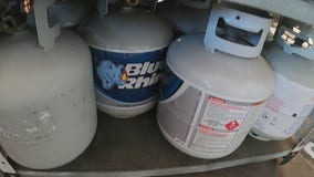 Propane tanks selling out as many look to warm their patios over winter