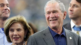 Former President Bush and First Lady to attend Biden's inauguration