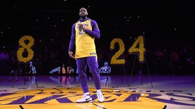 Celebrities, sports community pay tribute to Kobe Bryant one year after deadly helicopter crash