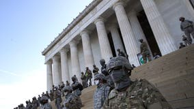National Guard troops from several states sent to Washington DC to assist with inauguration security