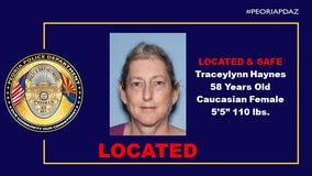 Peoria Police locate woman who had been missing for more than a week