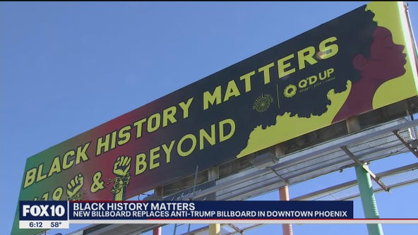 Anti-Trump billboard replaced in Downtown Phoenix