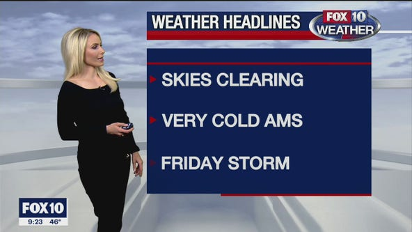 Evening Weather Forecast - 1/26/21