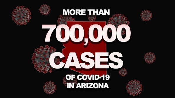 Arizona COVID-19 toll tops 12,000 deaths, over 700,000 cases