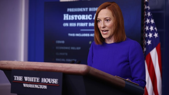Jen Psaki, Biden's new White House press secretary, holds first briefing