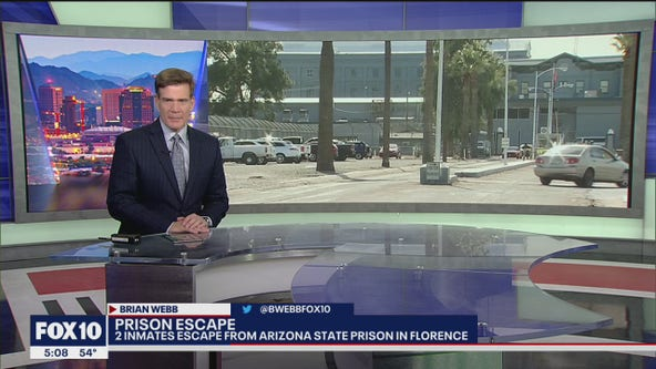 Manhunt underway for 2 prison escapees in Arizona