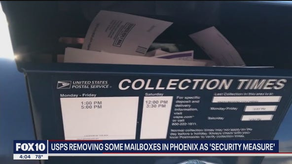 USPS removing some mailboxes in Phoenix