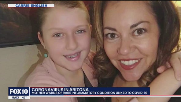 Mother hopes to raise awareness for COVID-related condition in children