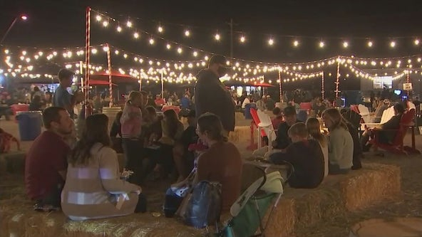 Food truck park supporting small businesses in Mesa