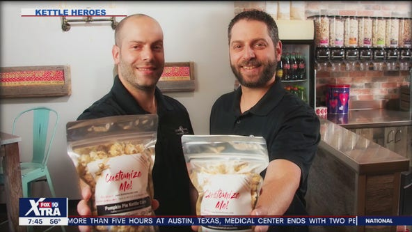 Brothers make it big in the world of popcorn