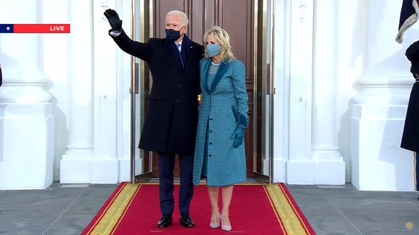 Inauguration Day 2021: Biden enters White House for 1st time as president
