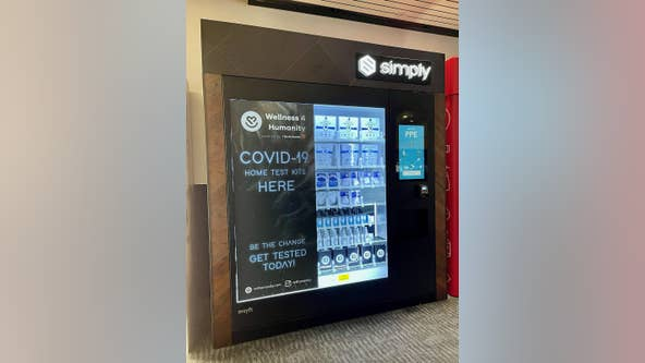 Oakland airport 1st in nation to sell COVID kits in vending machines