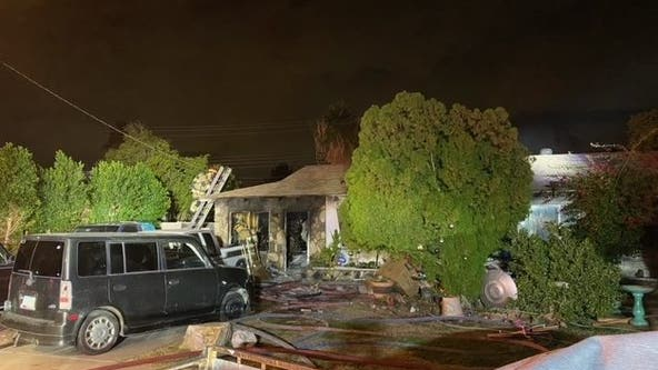 Crews from multiple Valley agencies battle Scottsdale house fire