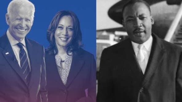 'United We Serve': Biden-Harris team celebrating MLK Day with evening of music, speakers