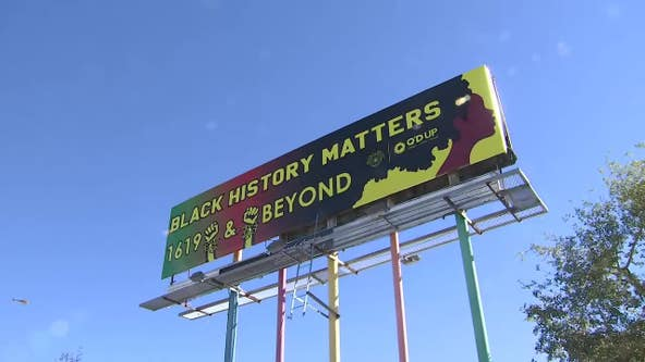 New Black history billboard replaces anti-Trump billboard in Downtown Phoenix
