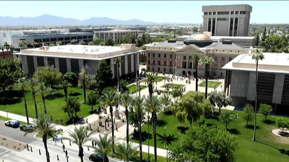 Arizona State Capitol in Phoenix, Arizona