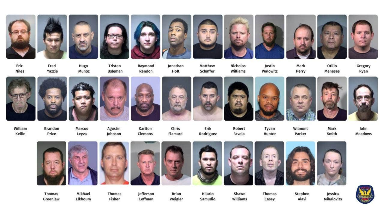 "Arizona Police Arrest 37 Sexual Predators and Human Traffickers for ""Operation Broken Hearts"""