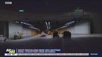 ADOT installing new LED lighting in I-10 Deck Park Tunnel