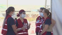 Nursing students get hands-on learning during COVID-19 pandemic