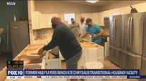 Former MLB players renovate Scottsdale homeless shelter