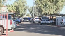 Shooting suspect on the run in west Phoenix