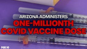 COVID-19 vaccination site planned for University of Arizona as state surpasses 1 million doses