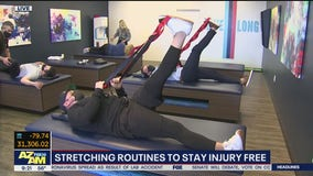Stretching routines to stay injury free