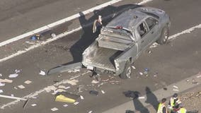 Southbound I-17 reopens at Greenway following multi-vehicle crash