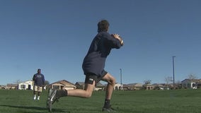 Phoenix coach mentoring high school athletes sidelined by ongoing COVID-19 pandemic