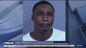 Man accused of assaulting, pointing gun at rideshare driver